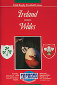 Rugby 24/03/1990 Five Nations Ireland Vs Wales