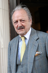 April 3, 2017 - London, London, United Kingdom - Image licensed to i-Images Picture Agency. 03/04/2017. London, United Kingdom. Actor Peter Bowles arriving for the 40th anniversary of Langan's Brasserie in London.  Picture by Stephen Lock / i-Images (Credit Image: © Stephen Lock/i-Images via ZUMA Press)