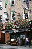 Doherty and Nesbitt Irish pub on Baggot Street Dublin Ireland