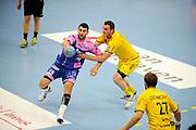 DESCRIZIONE : Handball Tournoi de Cesson Homme<br /> GIOCATORE : BOUTLIFF Sassi<br /> SQUADRA : Cesson<br /> EVENTO : Tournoi de cesson<br /> GARA : Cesson Tremblaye<br /> DATA : 06 09 2012<br /> CATEGORIA : Handball Homme<br /> SPORT : Handball<br /> AUTORE : JF Molliere <br /> Galleria : France Hand 2012-2013 Action<br /> Fotonotizia : Tournoi de Cesson Homme<br /> Predefinita :