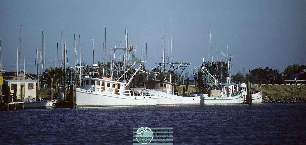 1987 Bay Shrimp Boats docked in Clear Lake