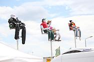 Fan dummies during the HJC Helmets Motorrad Grand Prix Deutschland at Hohenstein-Ernstthal, Chemnitz, Saxony, Germany on 5 July 2019.