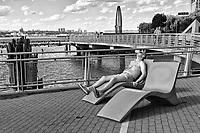 Hudson River Park, New York City.