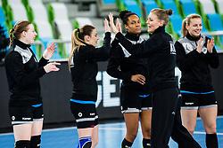 Nina Zabjek of RK Krim (SLO) during handball match between RK Krim Mercator (SLO) vs Metz Handball  (FRA) in DELO EHF Women's Champions League 2020/21, on January 16, 2021 in SRC Stozice, Ljubljana, Slovenia. Photo by Grega Valancic / Sportida