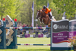 Smolders Harrie, (NED), Emerald <br /> Furusiyya FEI Nations Cup of Belgium<br /> Longines Spring Classic of Flanders - Lummen 2015<br /> © Hippo Foto - Leanjo de Koster<br /> 01/05/15