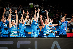 Players of Slovenia react during basketball match between Women National teams of Belgium and Slovenia in the Qualification for the Quarter-Finals of Women's Eurobasket 2019, on July 2, 2019 in Belgrade Arena, Belgrade, Serbia. Photo by Vid Ponikvar / Sportida