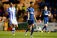 Southend United midfielder Tim Dieng during the EFL Trophy match between Colchester United and Southend United at the Weston Homes Community Stadium, Colchester, England on 9 October 2018.