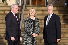 DEC 7 2012 US Secretary of State Hillary Clinton in Belfast