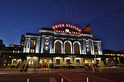 SHOT 9/4/18 8:03:19 PM - Cole Taylor management properties including North Wing Union Station – 1705 17th Street (IMA), One Union Station – 1615 Wynkoop Street (Antero), 1601 Wewatta Street, 1515 Wynkoop Street and 1999 Broadway. (Photo by Marc Piscotty / © 2018)