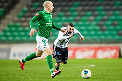 Nino Kouter of NS Mura during the football match between NK Olimpija Ljubljana and NS Mura in 25. Round of Prva liga Telekom Slovenije 2019/20, on March 8, 2020 in Stadion Stozice, Ljubljana, Slovenia. Photo by Grega Valancic / Sportida