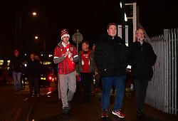 Bristol City Fans walk in  - Mandatory by-line: Alex Davidson/JMP - 20/12/2017 - FOOTBALL - Ashton Gate Stadium - Bristol, England - Bristol City v Manchester United - Carabao Cup Quarter Final