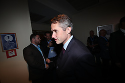 © Licensed to London News Pictures . 02/10/2018. Birmingham, UK. GAVIN WILLIAMSON at the conference . Day 3 of the Conservative Party conference at the ICC in Birmingham . Photo credit: Joel Goodman/LNP
