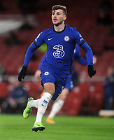 Football - 2020 / 2021 Premier League - Arsenal v Chelsea - Emirates Stadium<br /> <br /> Timo Werner of Chelsea<br /> <br /> COLORSPORT/ANDREW COWIE