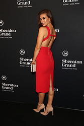 VIP guests, industry leaders and local celebrities celebrate the official launch of Sheraton Grand Sydney Hyde Park at a spectacular black-carpet soiree. More than 500 people are expected to join in the revelry at Sydney's first-ever Sheraton Grand hotel. 15 Nov 2018 Pictured: Miss Universe Australia, Francesca Hung. Photo credit: Richard Milnes / MEGA TheMegaAgency.com +1 888 505 6342
