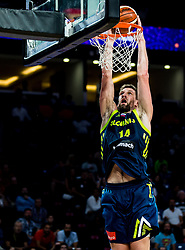 Gasper Vidmar of Slovenia during basketball match between National Teams of Slovenia and Spain at Day 15 in Semifinal of the FIBA EuroBasket 2017 at Sinan Erdem Dome in Istanbul, Turkey on September 14, 2017. Photo by Vid Ponikvar / Sportida