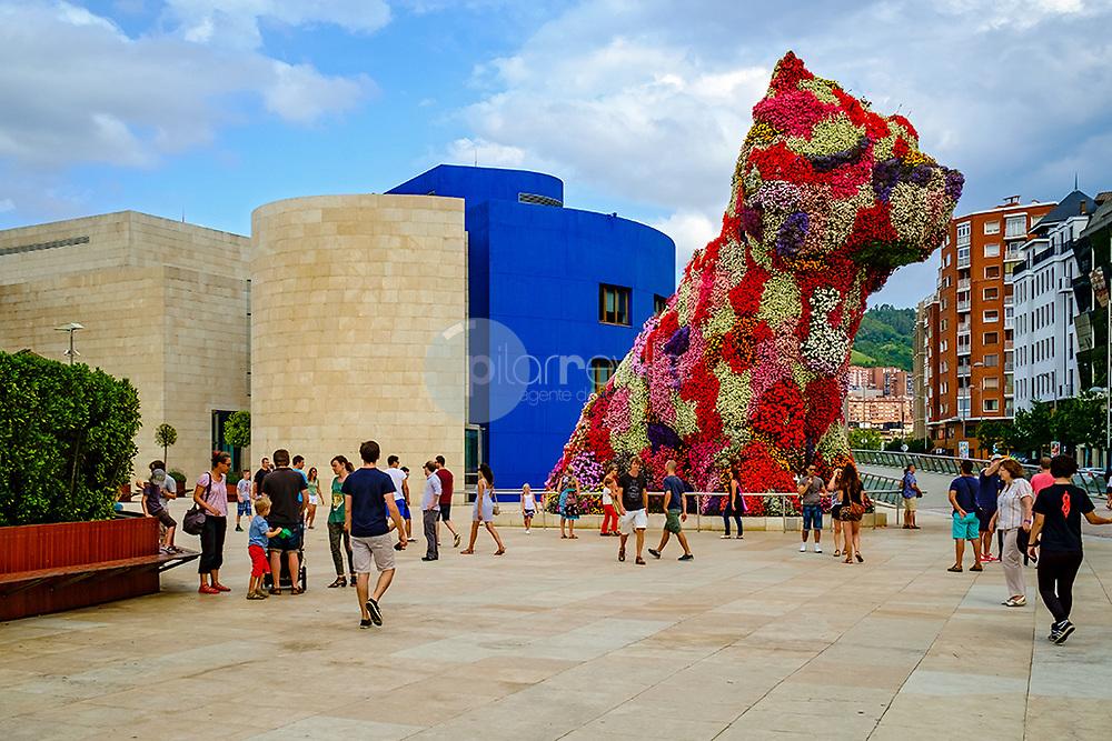 Poppy,  Museo Guggenheim. Bilbao ©© Javier I. Sanchís / PILAR REVILLA