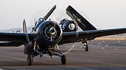 FM2 Wildcat of the Erickson Aircraft Collection starting for aerial demonstration.