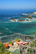 A View of Laguna Beach Coastline