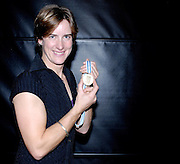 Lords, London, 03.02.2007, GB Rowing Teams Dinner,  Stroke of the GBR Women's Quadruple scull  Katherine GRAINGER, poses with her Gold medal after FISA's announcement on Mon 29.01.2007 that the bow of the Russian Quad had tested positive  in a drugs test. [Photo, Peter Spurrier/Intersport-images]Lords, London, GB Rowing Teams Dinner, GBR Women's Quadruple scull  Debbie FlOOD, Sarah WINCKLESS, Frances HOUGHTON and Katherine GRAINGER, presented with their Gold medal, after the Bow of the Russsian womens Quad. tested positive, announced by FISA. 03.02.2007. [Photo, Peter Spurrier/Intersport-images].  [Mandatory Credit, Peter Spurier/ Intersport Images].