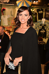 LUCY MECKLENBURGH at the opening night of Amaluna by Cirque Du Soleil at The Royal Albert Hall, London on 19th January 2016.