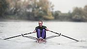 "Putney. London. GREAT BRITAIN;  NED LM1X. Frans GOEBEL<br /> <br /> 1995 Thames World Sculling Championships, Putney to Mortlake. Championship Course, River Thames.<br /> <br /> [Mandatory Credit; ""Photo, Peter Spurrier/Intersport-images]<br /> <br /> 1995 Thames World Sculling Championships, Putney to Mortlake. Championship Course, River Thames.<br /> <br /> [Mandatory Credit; ""Photo, Peter Spurrier/Intersport-images]"