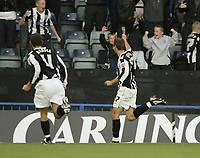 Photo: Aidan Ellis.<br /> Rochdale v Norwich City. Carling Cup. 28/08/2007.<br /> Rochdale's Glenn Murray celebrates scoring the first goal