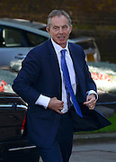 © Licensed to London News Pictures. 24/07/2012. Westminster, UK TONY BLAIR. The British Prime Minister David Cameron hosts a lunch today 24th July 2012 at Downing Street for HM The Queen and the Duke of Edinburgh with the Deputy Prime Minister and past Prime Ministers, Sir John Major, Tony Blair and Gordon Brown. Photo credit : Stephen Simpson/LNP