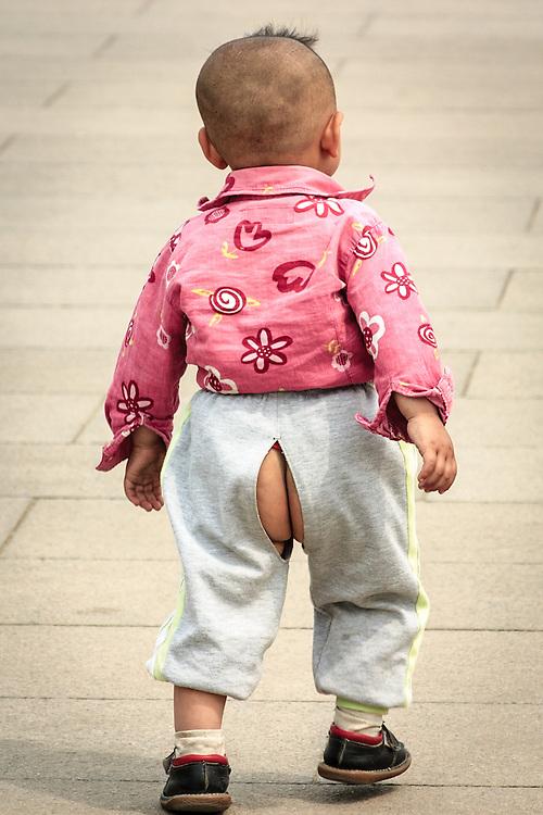 Split-pants vs Diapers