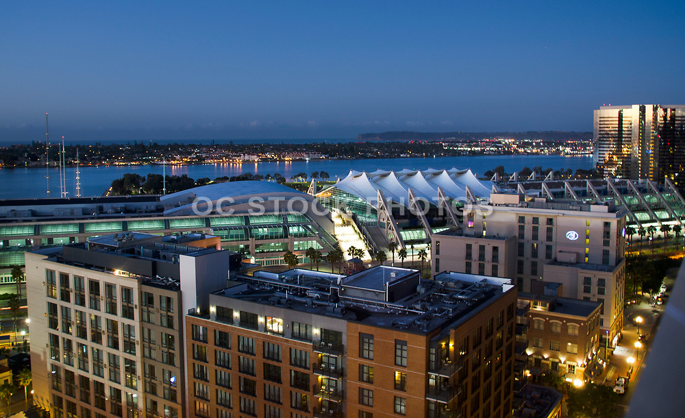 San Diego Convention Center at Dusk