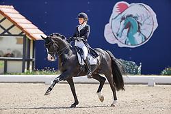 HAGEN a.T.W. - Horses and Dreams meets Japan Sports Edition 2021<br /> <br /> KLEMENTIEVA Maria (RUS), Doctor Wendeli Mf<br /> CDI 4* Grand Prix<br /> Qualifikation für Grand Prix Special<br /> Preis des Gestütes Vorwerk<br /> <br /> Hagen a.T.W., Hof Kasselmann<br /> 23. April 2021<br /> © www.sportfotos-lafrentz.de/Stefan Lafrentz