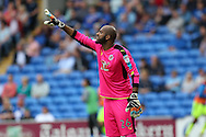 Reading goalkeeper Ali Al-Habsi looks on. EFL Skybet championship match, Cardiff city v Reading at the Cardiff city stadium in Cardiff, South Wales on Saturday 27th August 2016.<br /> pic by Andrew Orchard, Andrew Orchard sports photography.
