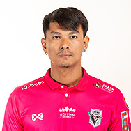 THAILAND - JUNE 06: Teerat Nakchamnan #27 of Chainat Hornbill FC on June 06, 2019.<br /> .<br /> .<br /> .<br /> (Photo by: Naratip Golf Srisupab/SEALs Sports Images/MB Media Solutions)