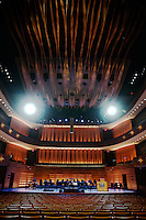 Koerner Hall in Toronto, Canada, part of the Royal Conservatory of Music's TELUS Centre for Performance and Learning.
