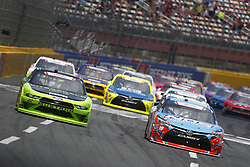 May 26, 2018 - Concord, North Carolina, United States of America - Brad Keselowski (22) and Kyle Busch (18) battle for position during the Alsco 300 at Charlotte Motor Speedway in Concord, North Carolina. (Credit Image: © Chris Owens Asp Inc/ASP via ZUMA Wire)