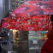 Pedestrians on Wall Street on Thursday, January 24, 2019. John Taggart/Bloomberg