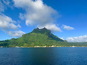 Vaitape, Bora Bora, Society Islands, French Polynesia; South Pacific