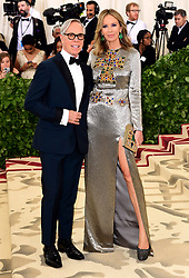 Tommy Hilfiger and Dee Ocleppo attending the Metropolitan Museum of Art Costume Institute Benefit Gala 2018 in New York, USA.