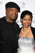 Chuck D and Mrs. D at The ImageNation celebration for the 20th Anniversary of ' Do the Right Thing' held Lincoln Center Walter Reade Theater on February 26, 2009 in New York City. ..Founded in 1997 by Moikgantsi Kgama, who shares executive duties with her husband, Event Producer Gregory Gates, ImageNation distinguishes itself by screening works that highlight and empower people from the African Diaspora.