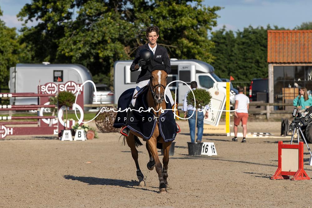 Spits Thibeau, BEL, Isolde van de Heffinck<br /> Groenten Jumping - Sint Kathelijne Waver 2020<br /> © Hippo Foto - Dirk Caremans<br />  21/07/2020