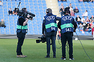 Television crew during the UEFA European Under 17 Championship 2018 match between England and Israel at Proact Stadium, Whittington Moor, United Kingdom on 4 May 2018. Picture by Mick Haynes.