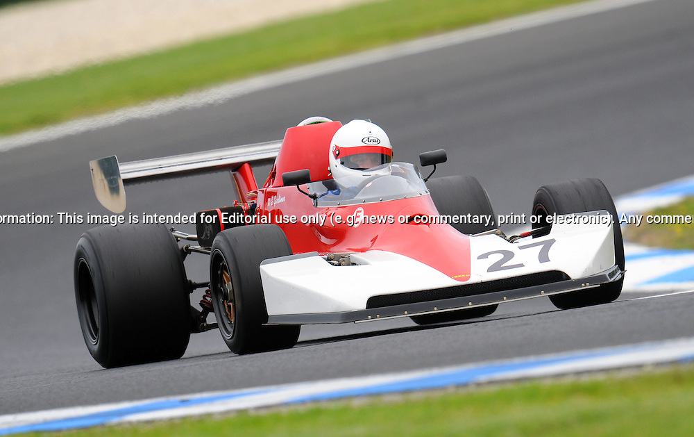 Simon Gardiner - Lola T460/560 - Formula Atlantic.Historic Motorsport Racing - Phillip Island Classic.18th March 2011.Phillip Island Racetrack, Phillip Island, Victoria.(C) Joel Strickland Photographics.Use information: This image is intended for Editorial use only (e.g. news or commentary, print or electronic). Any commercial or promotional use requires additional clearance.