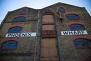 Phoenix Wharf in Wapping, London, England, United Kingdom. Phoenix Wharf is an iconic Grade II Listed Victorian riverside warehouse building, which is due to be restored to provide accommodation in a historical environment.