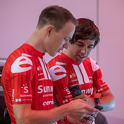 10-12-2019: Wielrennen: Teampresentatie Sunweb: Amsterdam<br />Nikias Arnst, Michael Matthews