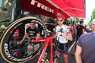 Bauke Mollema (NED - Trek - Segafredo) just before the start during the 105th Tour de France 2018, Stage 15, Millau - Carcassonne (181,5 km) on July 22th, 2018 - Photo George Deswijzen / Pro Shots / ProSportsImages / DPPI