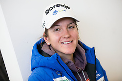 Lea Einfalt during press conference of Slovenian Nordic Ski team before new season 2017/18, on November 14, 2017 in Gorenje, Ljubljana - Crnuce, Slovenia. Photo by Vid Ponikvar / Sportida