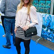 NLD/Amsterdam/20110731 - Premiere film De Smurfen, hockeyster Ellen Hoog