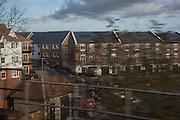New Housing development near Sevenoaks from train. 9 December 2015