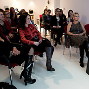 Warsaw, Poland, March 14 2013. At a meeting of Lady Business Club, a prestigious club for selected business women interested in building their personal brands.