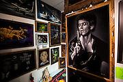The velvert painting museum, Velvetaria in downtown LA.