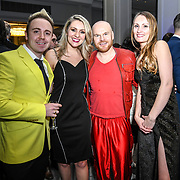 John Galea,Larissa Eddie,Philip Baldwin and guest attend The Music Producers Guild Awards at Grosvenor House, Park Lane, on 27th February 2020, London, UK.